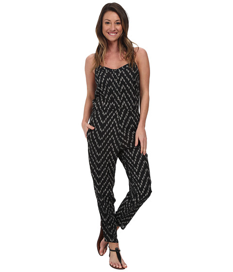 Billabong - Steal the Night Pant Jumper (Black/White) Women