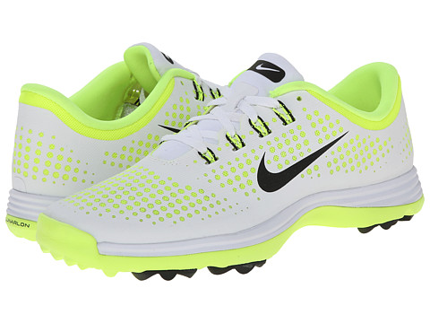 Nike Golf - Lunar Empress (White/Black/Volt) Women's Golf Shoes