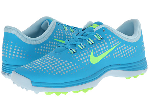 Nike Golf - Lunar Empress (Blue Lagoon/Ice Cube Blue/Flash Lime) Women's Golf Shoes