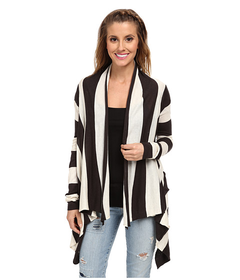 Billabong - Seaside Dreamz Cardigan (Off Black) Women's Sweater