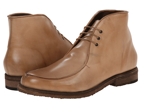 Messico - Antigua Crepe (Beige Leather) Men's Lace-up Boots