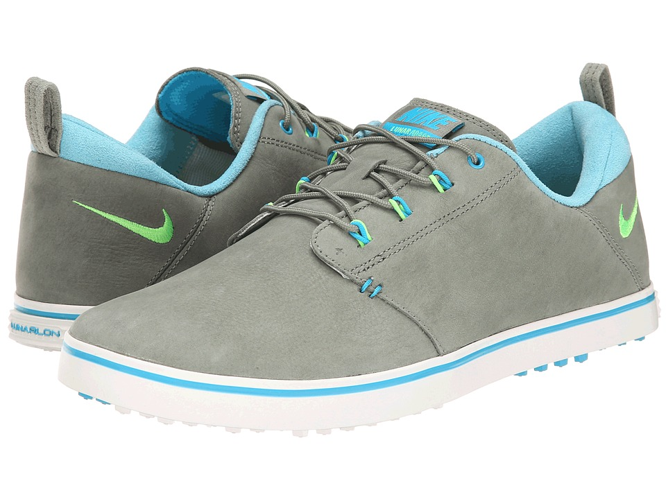 Nike Golf - Lunaradapt (Jade Stone/Blue Lagoon/Flash Lime) Women's Golf Shoes