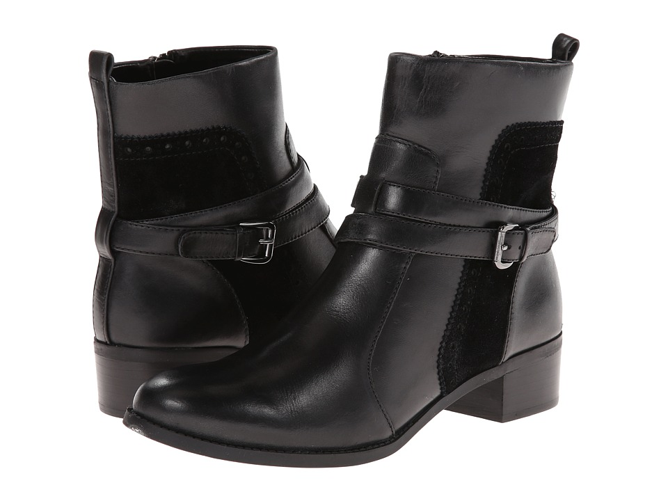 Circa Joan & David - Bruna (Black/Black Leather) Women