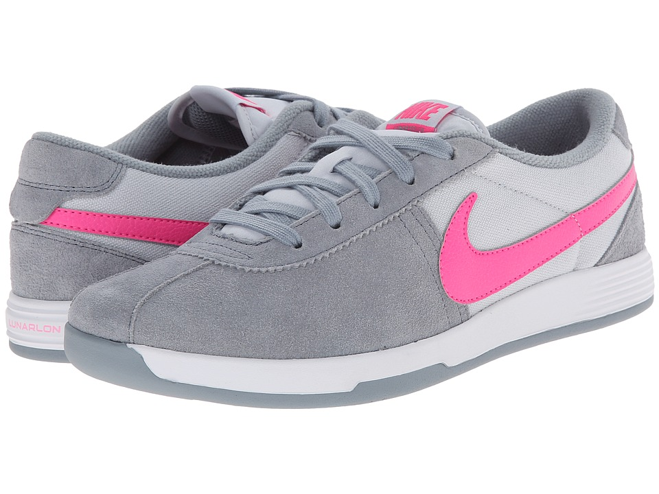Nike Golf - Lunar Bruin (Dove Grey/Pure Platinum/White/Pink Pow) Women's Golf Shoes