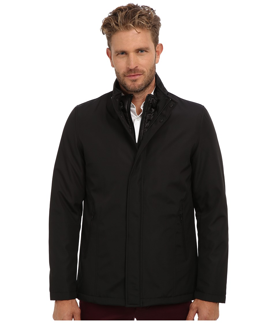 Vince Camuto - 31 Technical Storm System Jacket (Black) Men's Coat