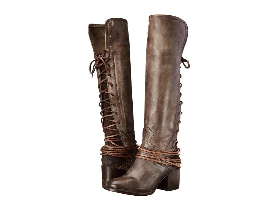 Freebird - Coal (Grey) Cowboy Boots