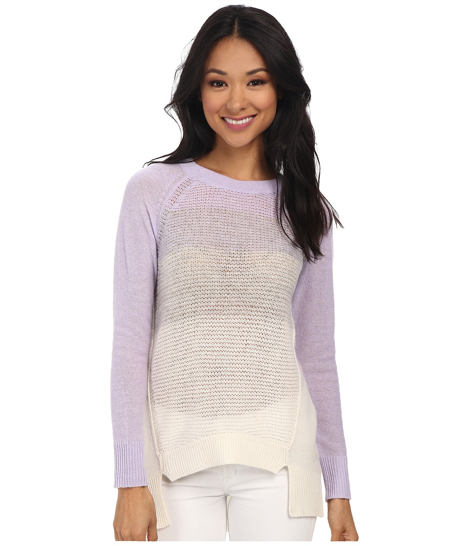 Rebecca Taylor - Long Sleeve Ombre Pullover (Color Combo) Women's Long Sleeve Pullover