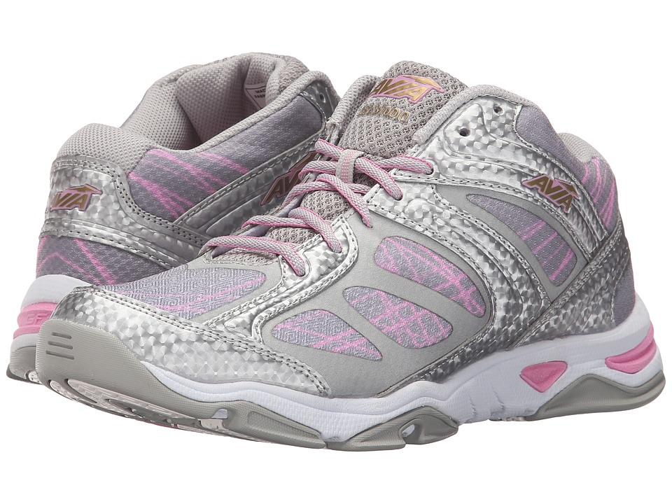 Avia GFC Studio (Chrome Silver/Prism Pink/Rich Gold) Women