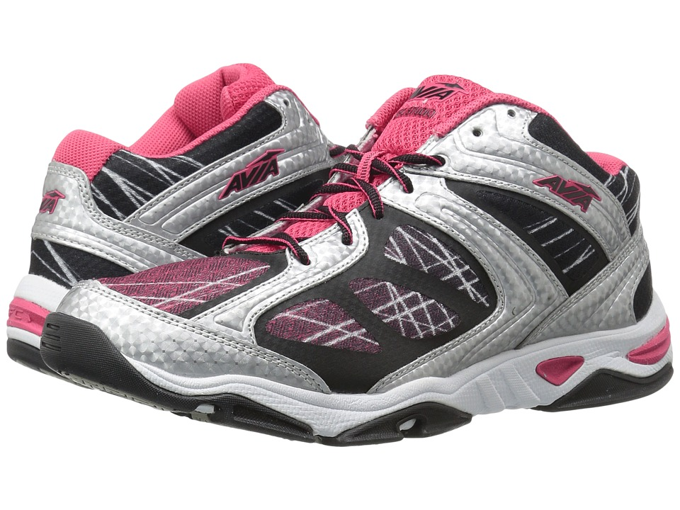 Avia - GFC Studio (Chrome Silver/Grenadine Pink/Black) Women's Shoes