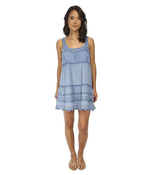 Billabong - Hidden Bloom Dress (Blue Sky) Women