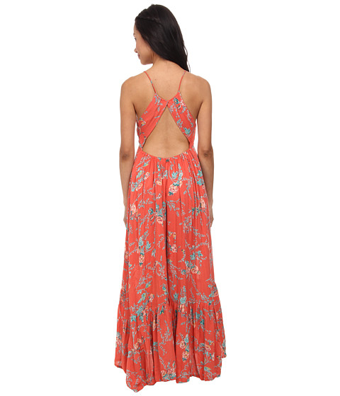 Billabong - Dream Escape Maxi Dress (Hot Coral) Women