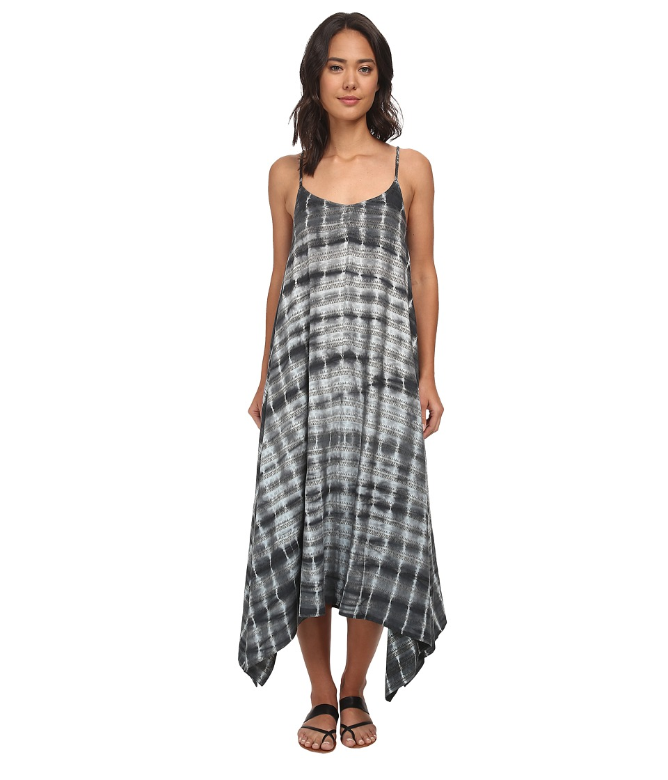 Billabong - Wild Nightz Maxi Dress (Off Black) Women
