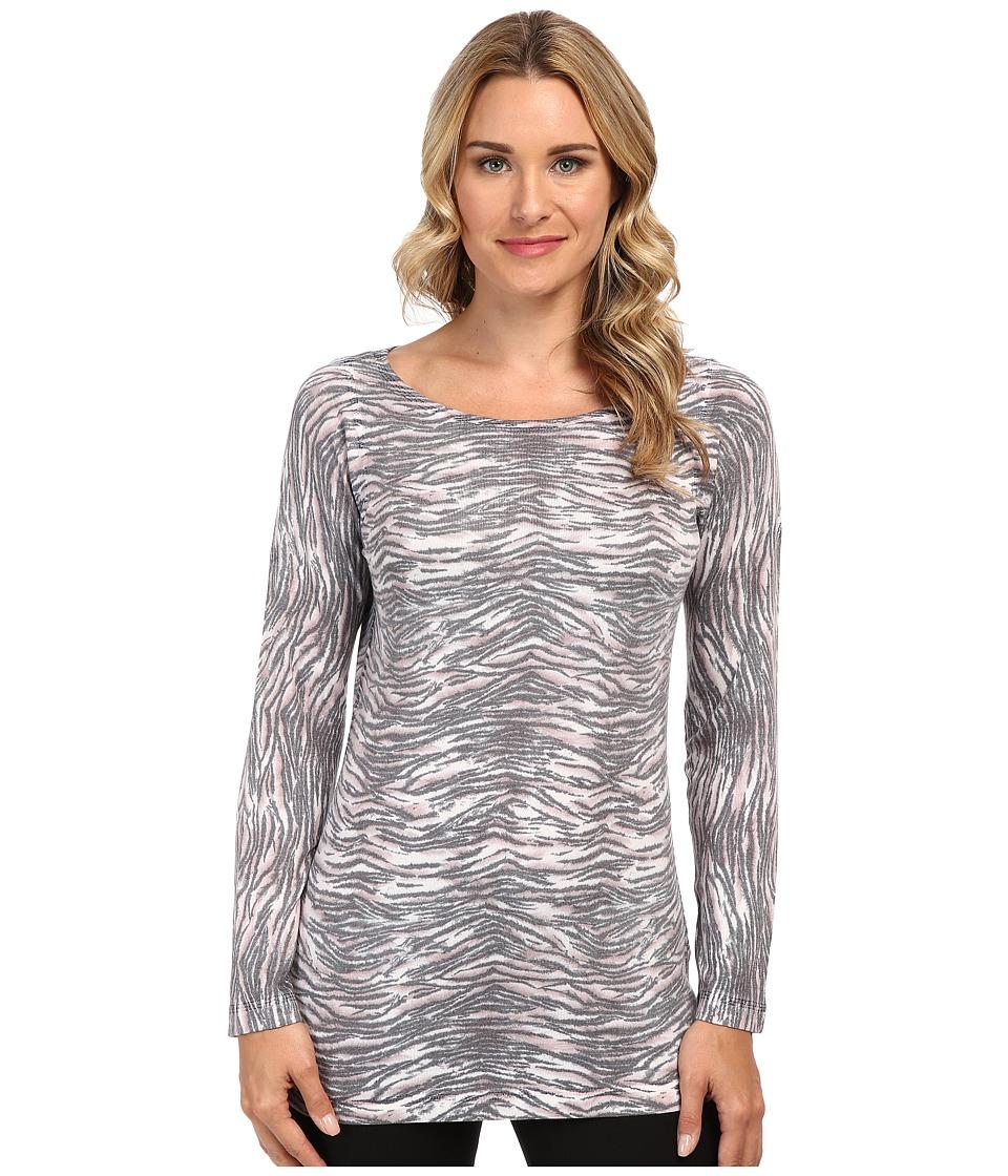 Nally & Millie - Sweater Top (Gray Multi) Women's Sweater