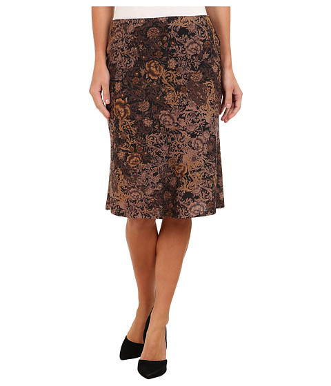 Nally & Millie - Floral Sweater Skirt (Multi) Women