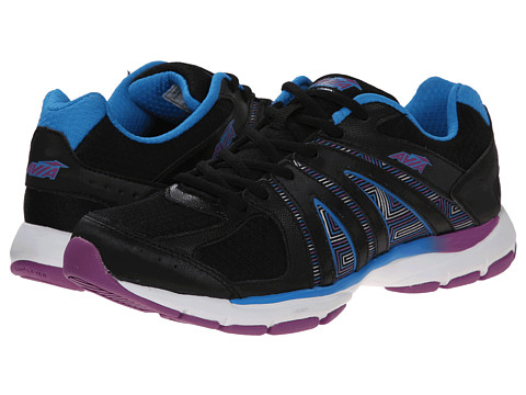 Avia - Avi-Tout (Black/Brilliant Blue/Bright Violet) Women's Shoes