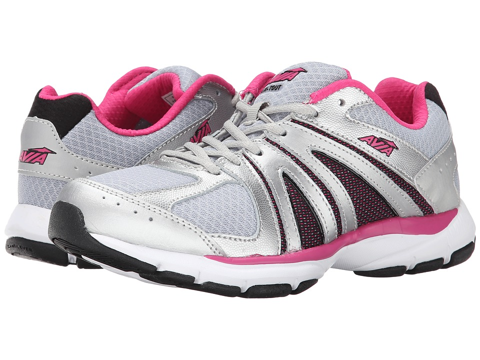 Avia Avi-Tout (Chrome Silver/Cool Mist/Zuma Pink/Black) Women