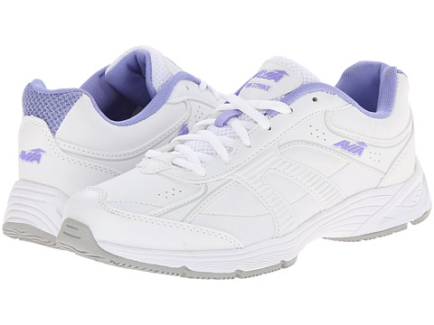 Avia - Avi-Strike (White Chrome Silver/Iced Periwinkle) Women's Shoes