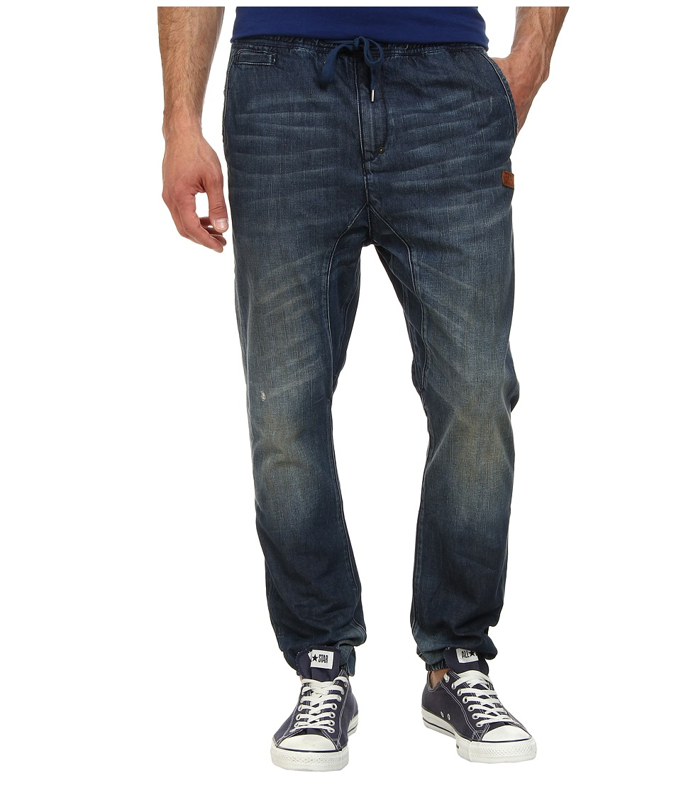Prps Goods & Co - Chopper Denim Jogger in Medium Blue (Medium Blue) Men