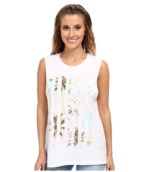 Billabong - Flag Vacation Tee (White) Women