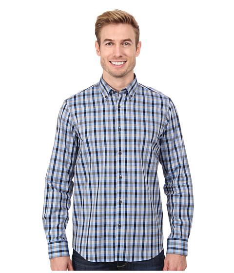 Report Collection - L/S Sport Shirt (Blue) Men
