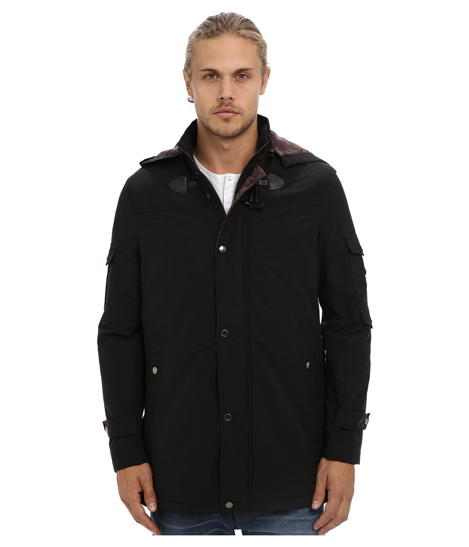 Report Collection - Toggle Coat (Black) Men's Coat