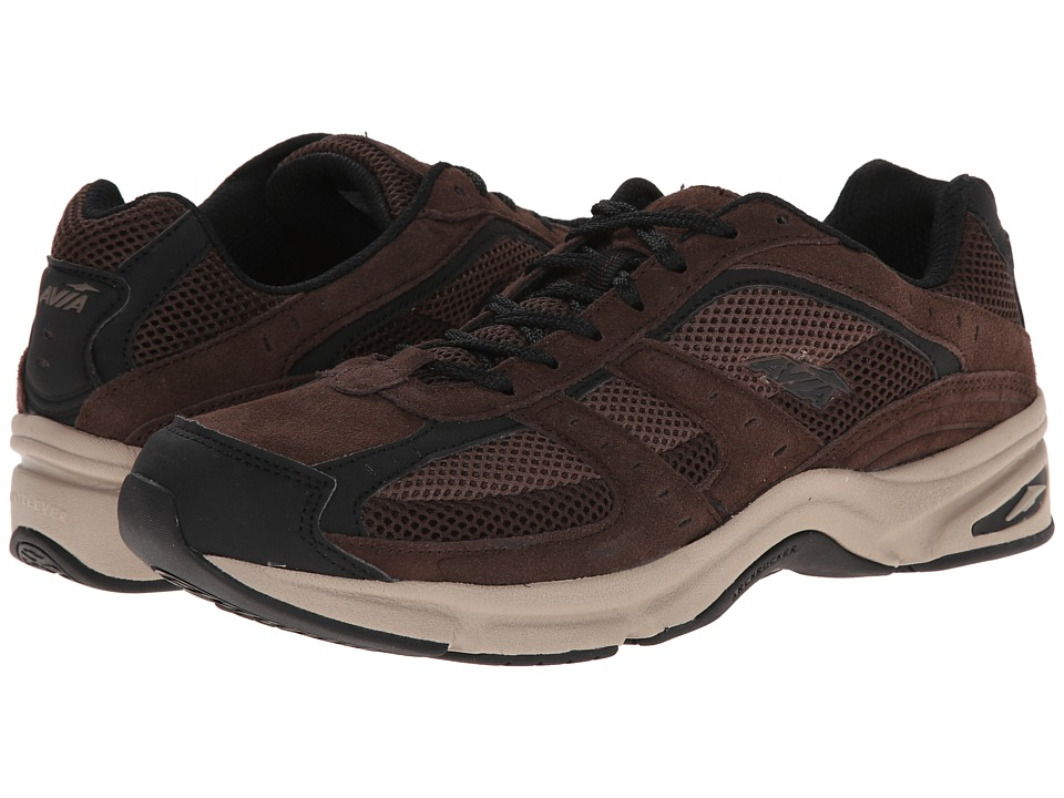 Avia - Avi-Volante Country (Dark Chestnut/Chocolate/Black) Men's Walking Shoes