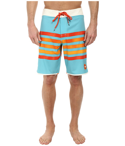 RVCA - Swindler Trunk (Peacock) Men's Swimwear
