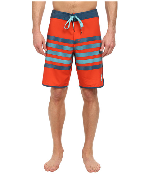 RVCA - Swindler Trunk (Red Clay) Men's Swimwear