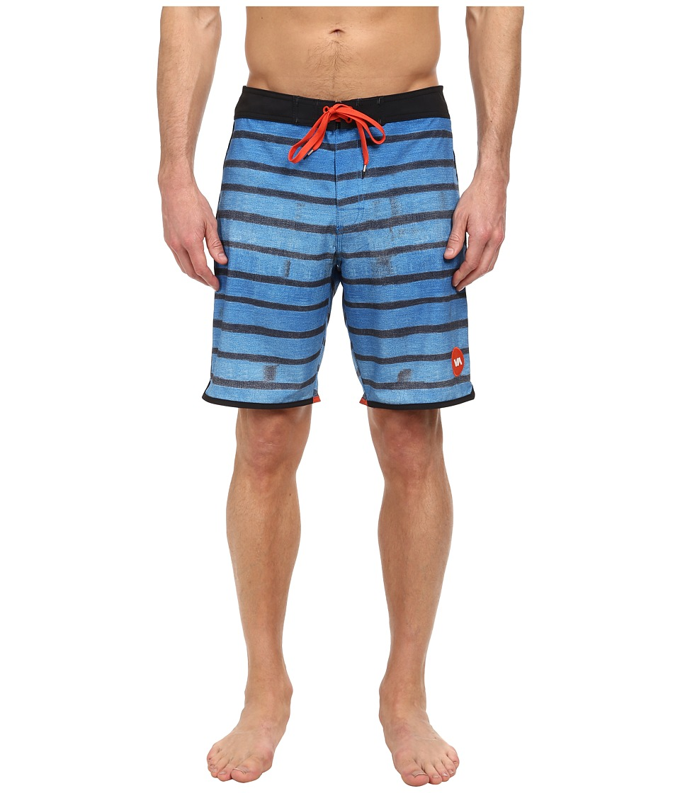 RVCA - Yours Truly Trunk (Ultra Blue) Men's Swimwear