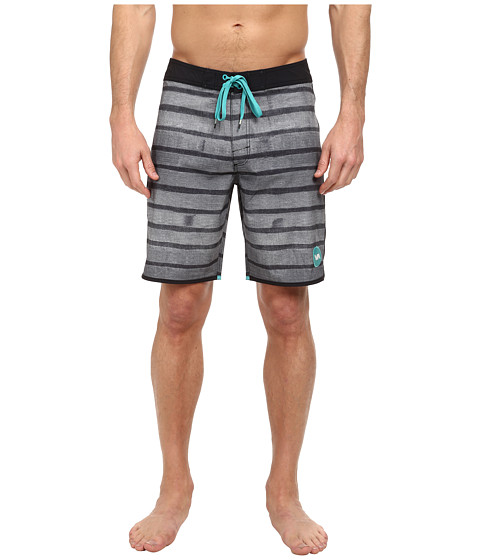 RVCA - Yours Truly Trunk (Black) Men's Swimwear