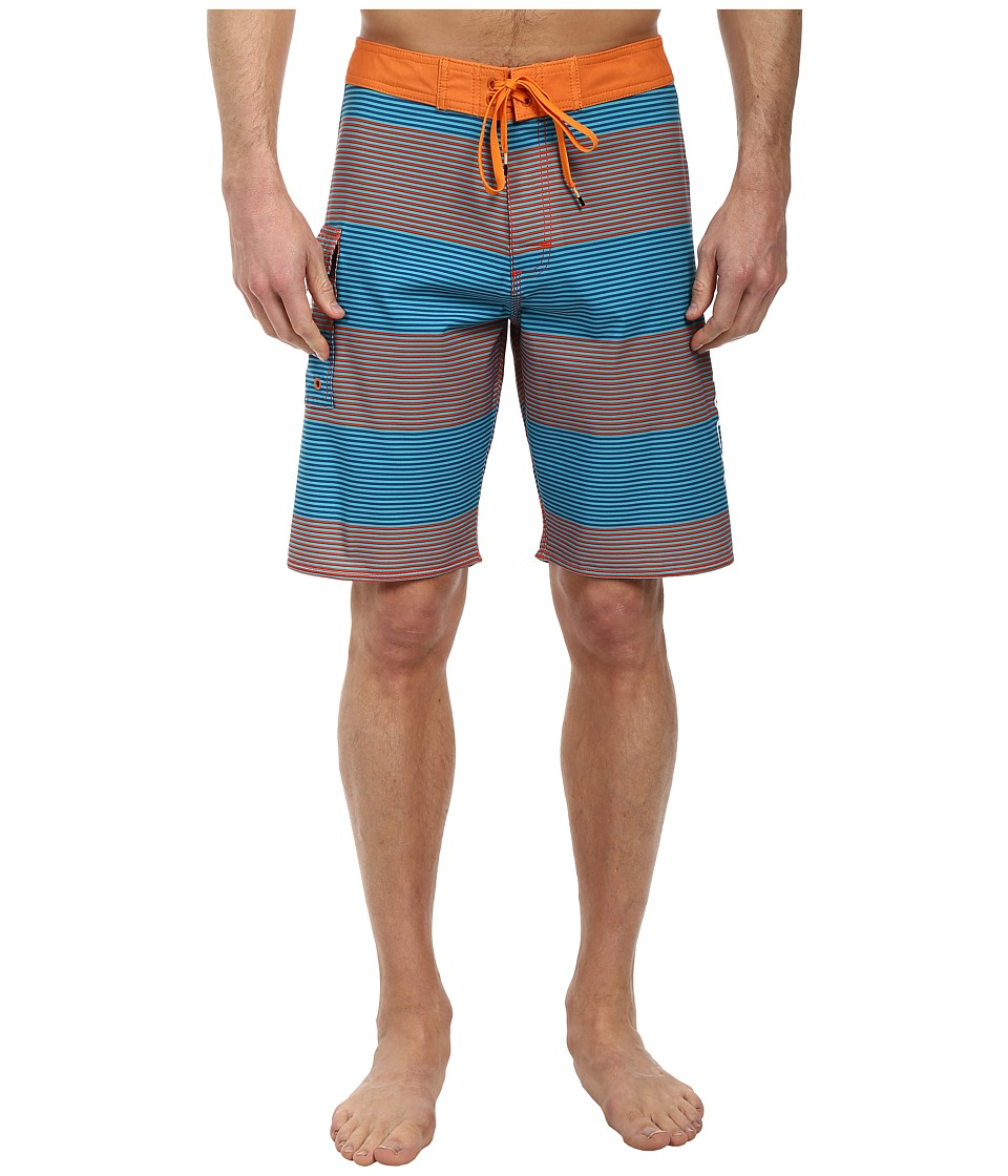 RVCA - Civil 20 Trunk (Deep Teal) Men's Swimwear