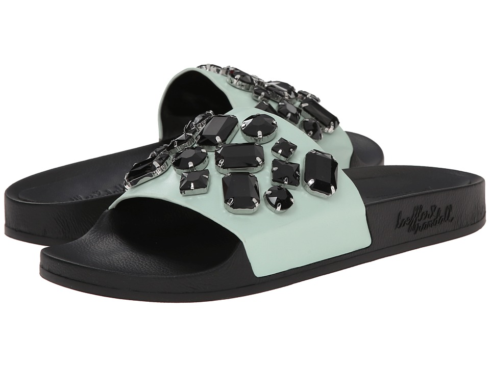 Loeffler Randall Cat (Mint/Black Vachetta) Women
