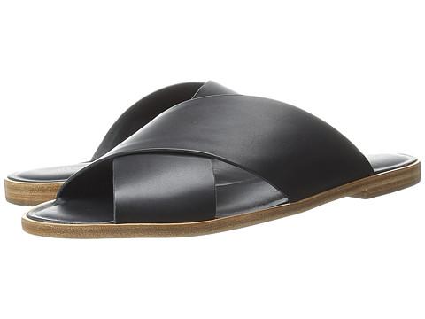 Loeffler Randall - Echo (Black Vachetta) Women's Sandals