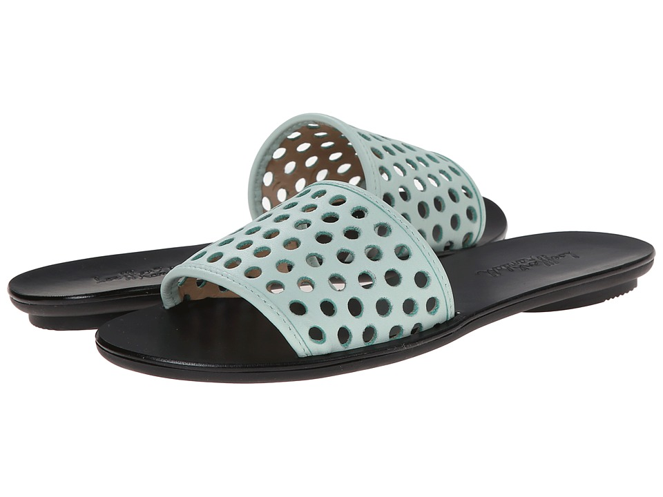 Loeffler Randall - Sybil (Mint/Black Nappa) Women's Sandals