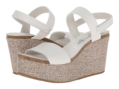 Pedro Garcia - Dulce (White Cervo) Women's Wedge Shoes