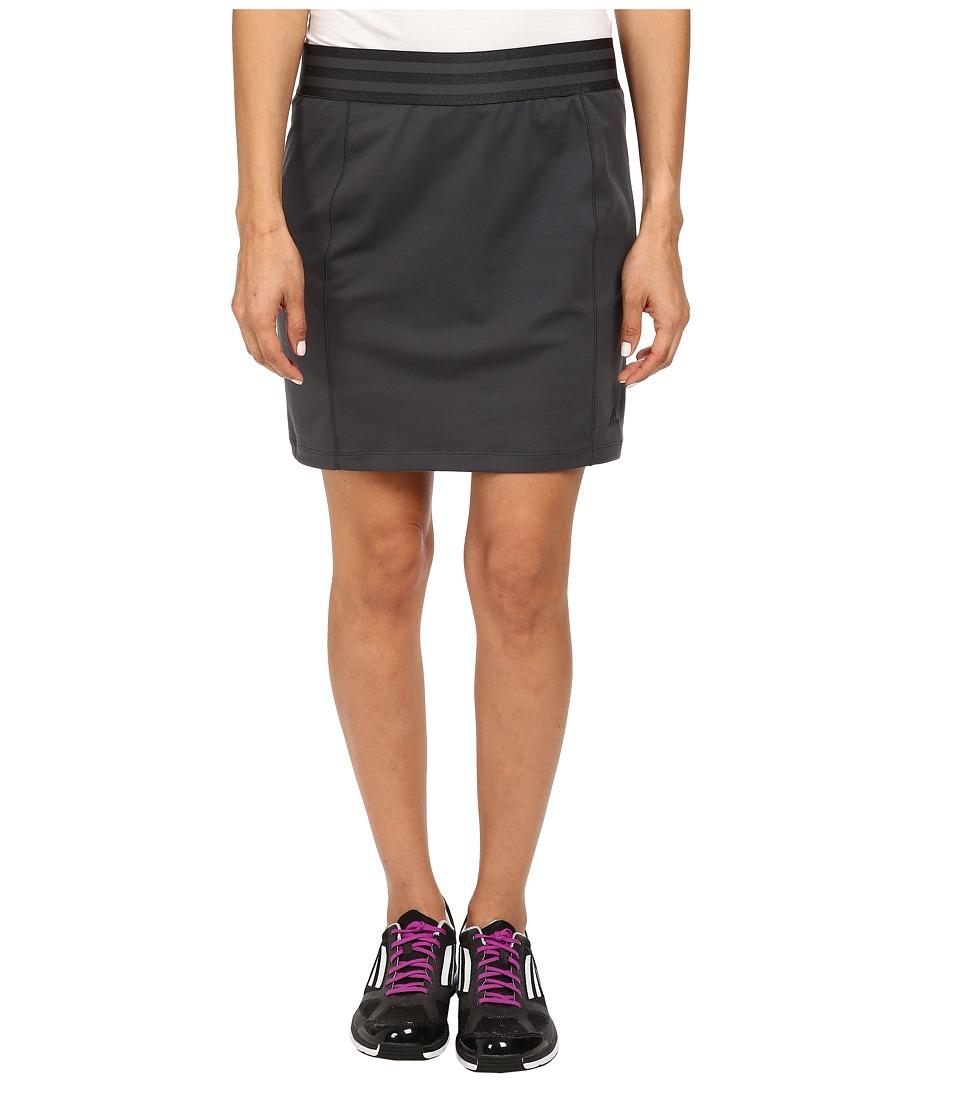 adidas Golf - Essentials Rangewear Skort '15 (Dark Grey Heather Solid Grey) Women's Skort