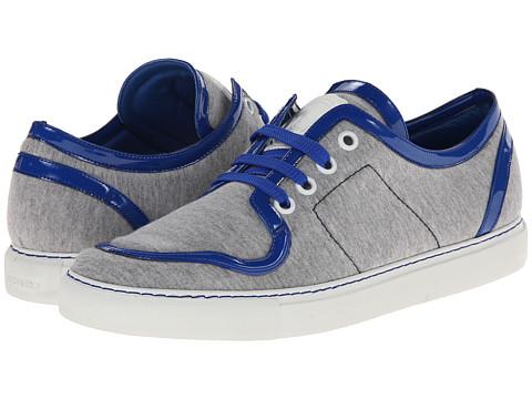 Viktor & Rolf - Jersey Sneaker (Grey Melange Jersey/Blue Patent) Men's Lace up casual Shoes