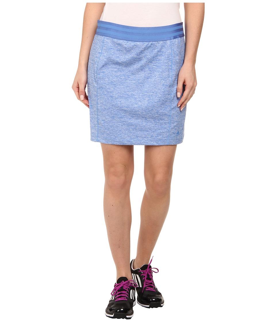 adidas Golf - Essentials Rangewear Skort '15 (Chambray Heather) Women's Skort