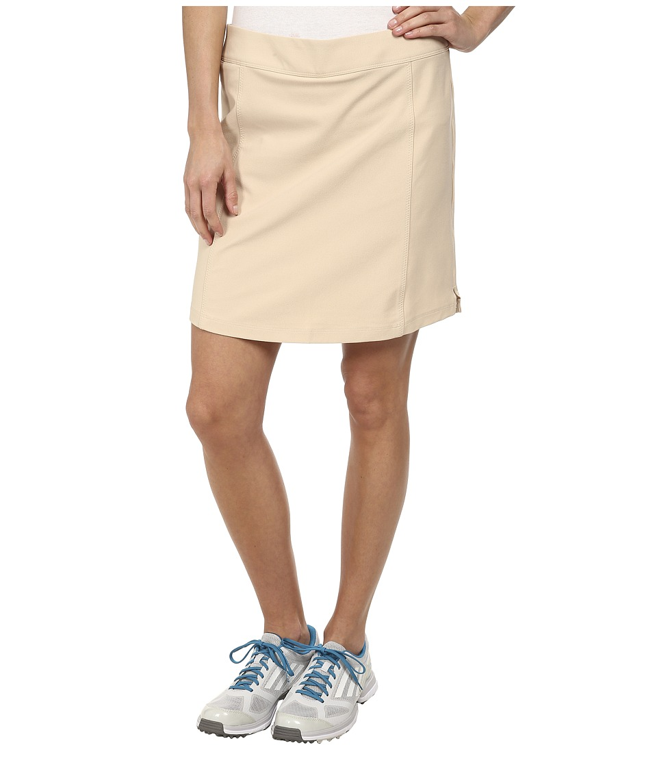 adidas Golf - adistar PULL ON SKORT (Lite Khaki) Women's Skort