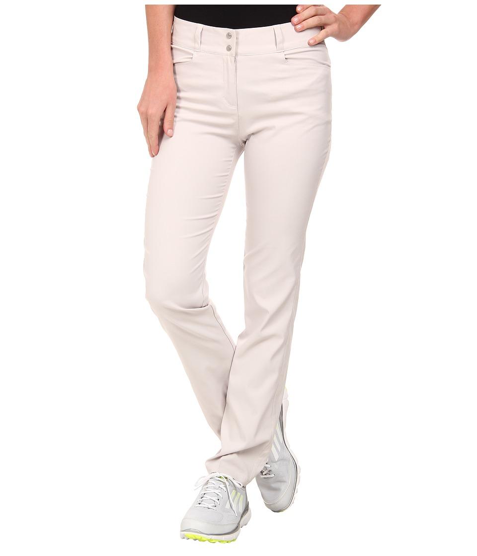 adidas Golf - Essentials Lightweight Full Length Pant '15 (Pearl Grey) Women's Casual Pants