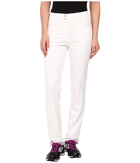 adidas Golf - Essentials Lightweight Full Length Pant '15 (White) Women's Casual Pants