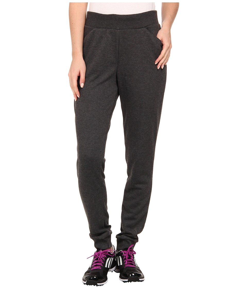 adidas Golf - Essentials Weekend Pant '15 (Dark Grey Heather) Women's Casual Pants