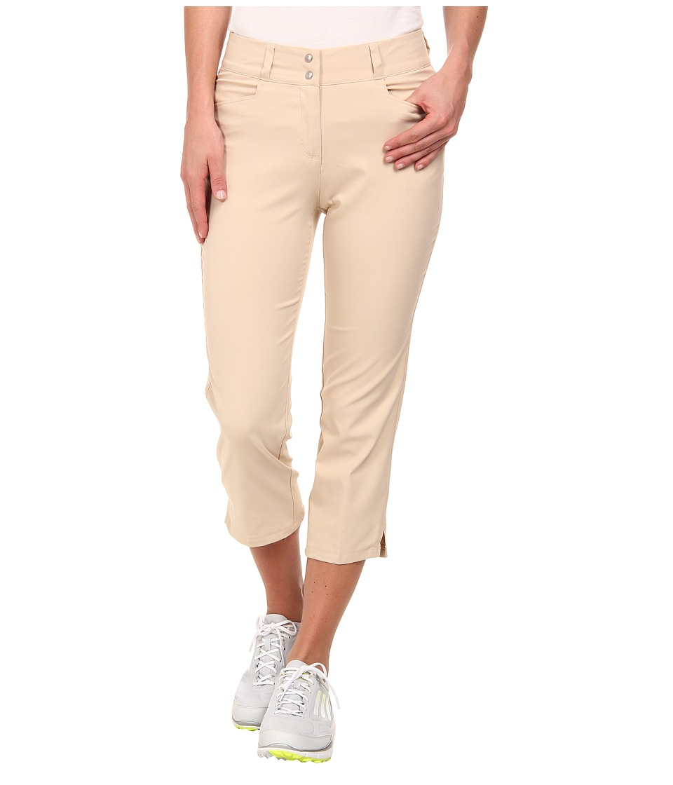 adidas Golf - Essentials Lightweight Capri '15 (Lite Khaki) Women's Capri