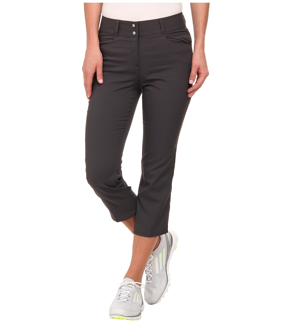adidas Golf - Essentials Lightweight Capri '15 (Dark Grey Heather Solid Grey) Women's Capri