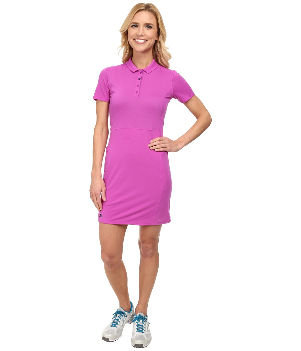 adidas Golf - Climalite Advance Pique Dress '15 (Flash Pink) Women's Dress