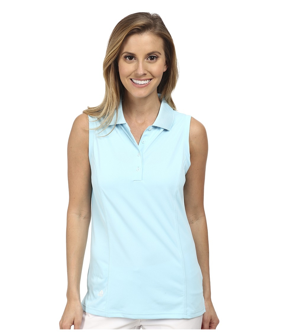 adidas Golf - Climalite Essentials Sleeveless Solid Polo