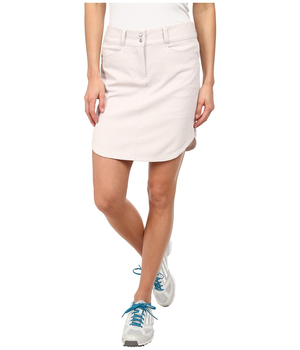 adidas Golf - Essentials 3-Stripes Skort '15 (Pearl Grey) Women's Skort