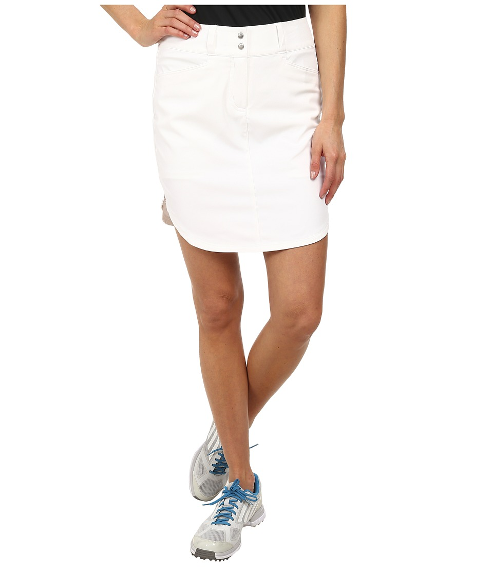 adidas Golf - Essentials 3-Stripes Skort '15 (White) Women's Skort