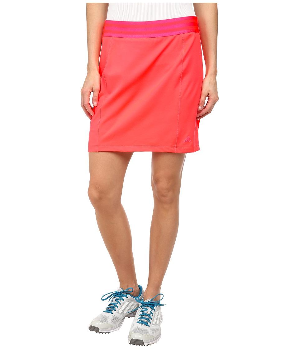 adidas Golf - Essentials Rangewear Skort '15 (Flash Red) Women's Skort