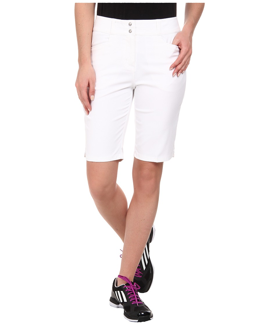 adidas Golf - Essentials Lightweight Bermuda Short '15 (Pearl Grey) Women's Shorts plus size,  plus size fashion plus size appare